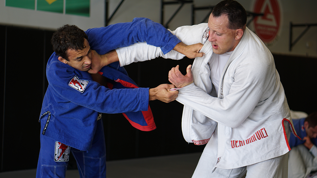 Judo grip fighting for BJJ