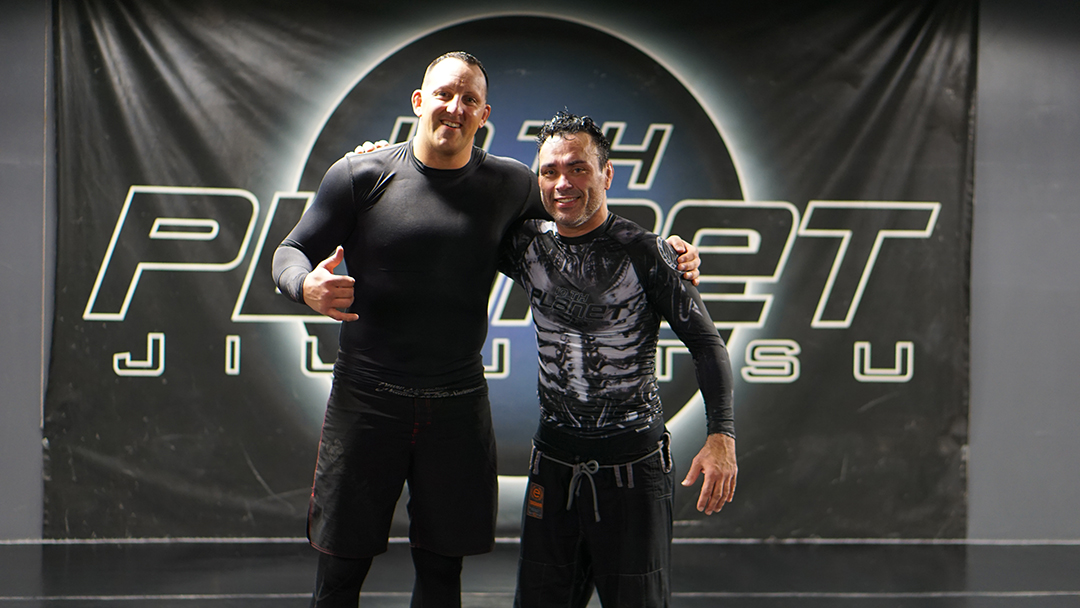 Eddie Bravo and Riseagainbjj