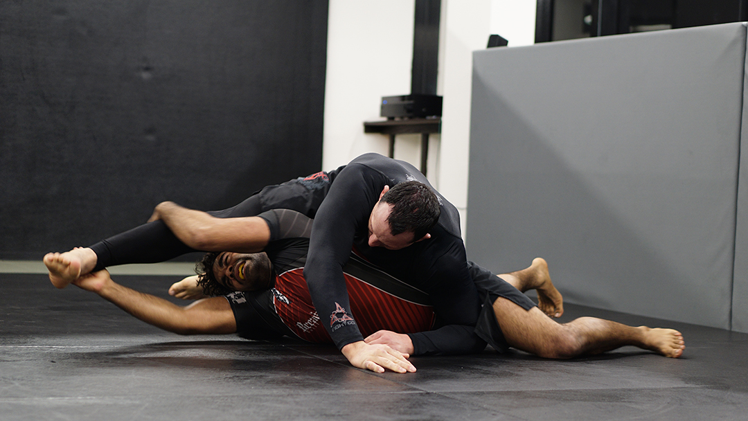 Breaking the single leg to take the back