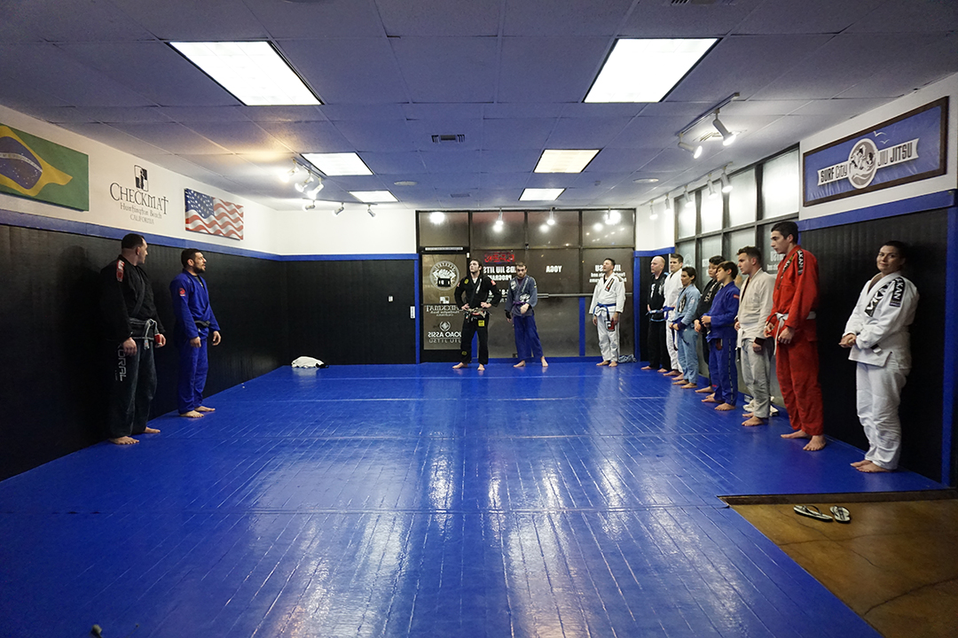Electric bjj mat space