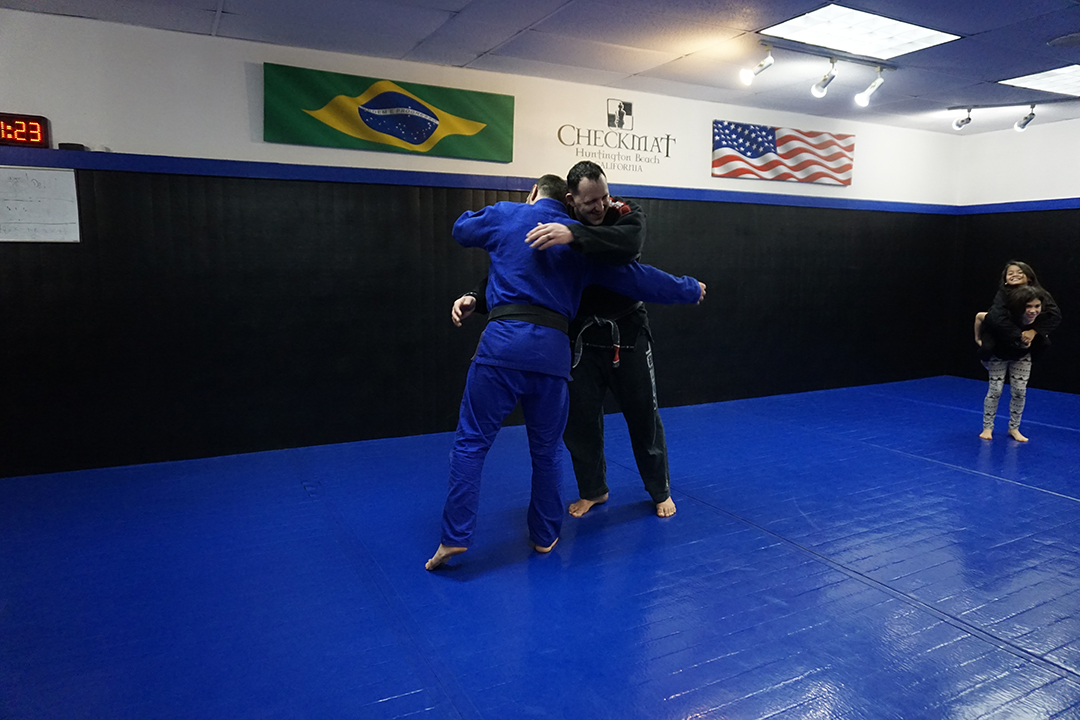 Joao assis and tom mcmahon end of class