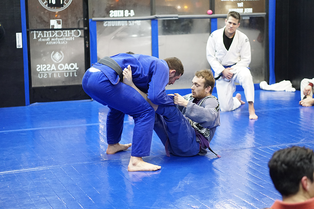 Joao assis guard pass drill 2