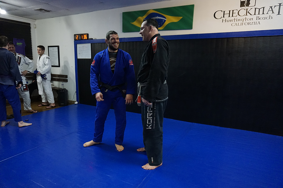 Joao assis joking with tom mcmahon 2