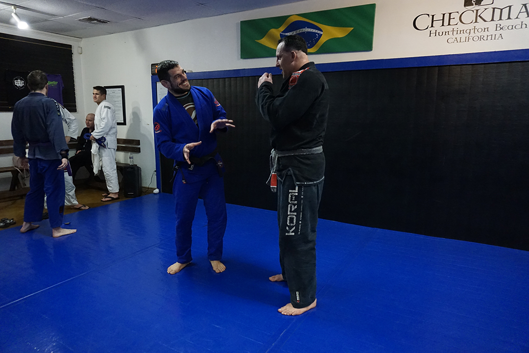 Joao assis joking with tom mcmahon