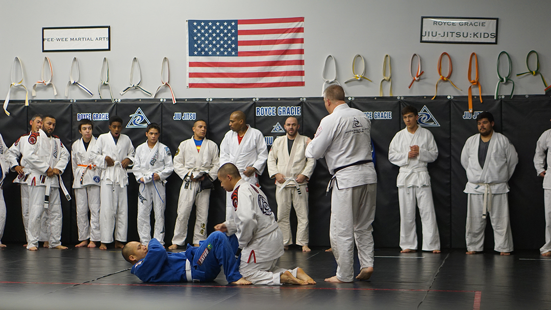 Royce gracie fresno students 2