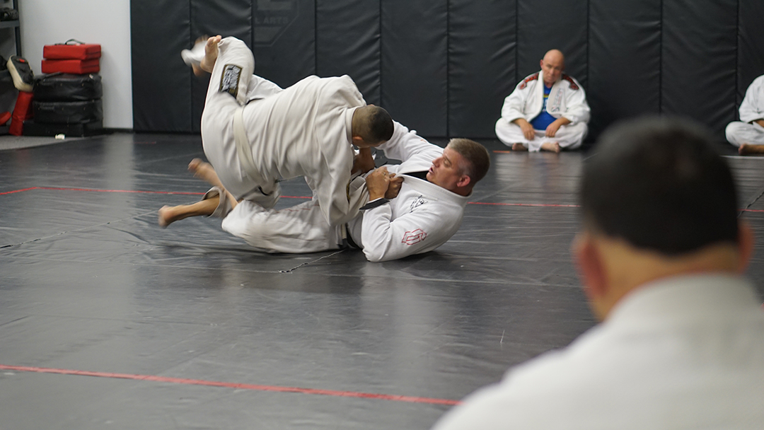 Tosh Cook Scissor sweep 2
