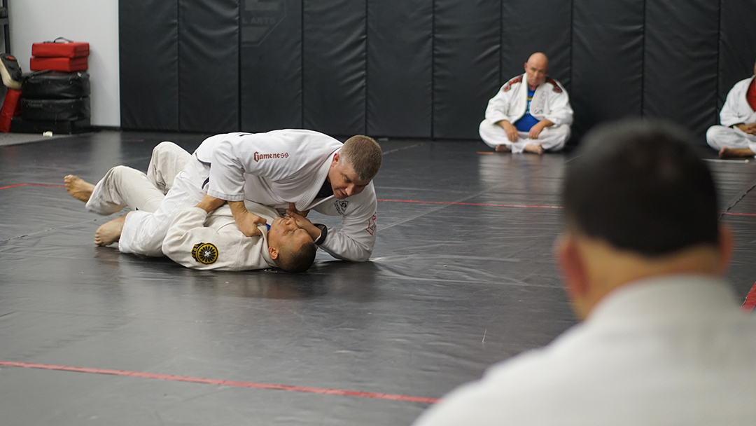 Tosh Cook Scissor sweep 4