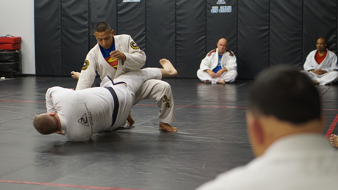 Tosh Cook Scissor sweep 5