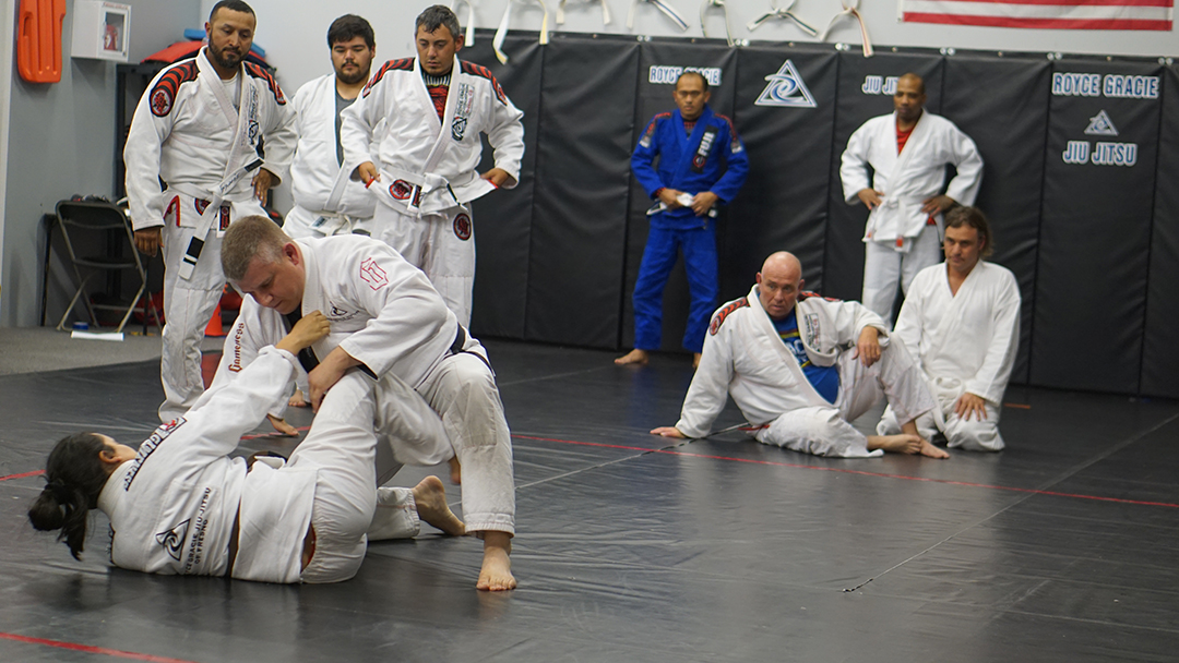 Tosh Cook Scissor sweep 6