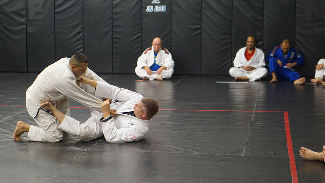 Tosh Cook Scissor sweep